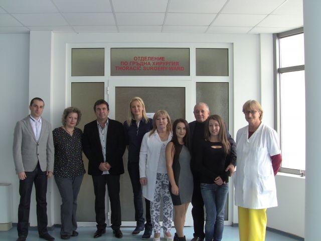 """Спасени животи и доволни пациенти отчита Гръдната хирургия в МБАЛ """"Бургасмед"""""""